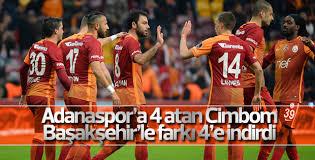 Galatasaray Adanaspor'u farklı yendi