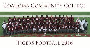 Memphis Tigers Football Depth Chart 2018 Coahoma Community College Tiger Athletics 2016 Football Roster