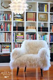 lounge chair custom furniture mongolian fur gigi