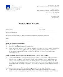 Medical Release Form Sample Simple Medical Records Consent Form Template Transfer Of Sample Request 44