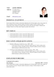 Curricula Vitae Example Curriculum Vitae Example Malawi Research