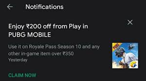 Pubg Mobile Coupon To Purchase Free Uc In Game Items And