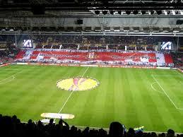 Voetbalstadion Behang Behang Trein