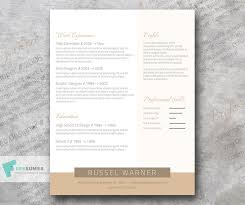 Professional Resume Template Freebie Golden Elegant Freesumes