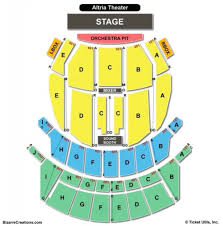 The Tobin Center Seating Chart Altria Theater Seating Chart Seating Chart