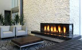 three story natural stacked stone veneer fireplace in white quartz rock panels dry stack diy