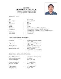 Sample Resume For Automotive Technician Sample Resume For