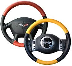 wheelskins eurotone two tone genuine leather steering wheel cover