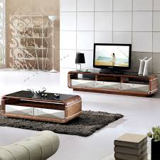 beautiful coffee table sets 1 modern mdf media console tv table assembly wooden tv