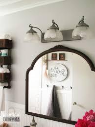 budget friendly diy farmhouse style bathroom makeover by prodigal pieces prodigalpieces com