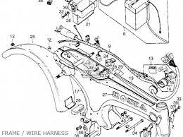 body frame st90 trailsport 1974 k1 usa 50100128670ec body frame photo