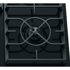 gas on glass cooktop glass gas architect series ii in gas on glass gas in black