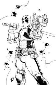 Small Picture free Deadpool Coloring Pages To Print Comic Book Coloring Pages
