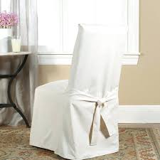 sure fit slipcover chair sure fit cotton duck full length dining room chair slipcover sure fit