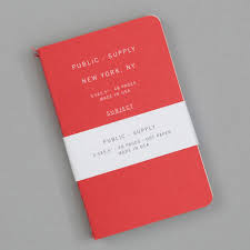 Dot Grid Pocket Notebook 3 Pack Red 02 Public Supply The Hill