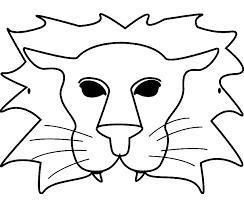 Kleurplaat Masker Tropicalweather