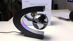 C Shape Magnetic Levitation Floating Globe <b>World Map</b> from ...