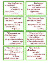 Treasure Hunt Clue Cards- Page 2 | elfoutfitters.com #elfoutfitters free  printable christmas