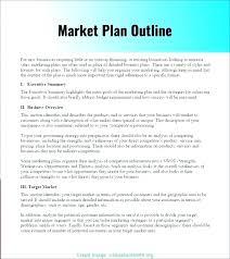 Executive Summary Outline Executive Summary Format Template