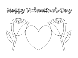 Printable Happy Valentine's Coloring Pages 382 - Coloring Pages Of ...
