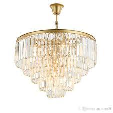 Acheter Lustre éclairage Français Empire Or Cristal Lustre Lampe