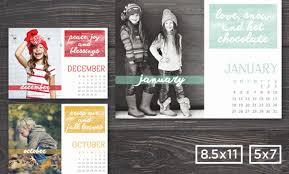 Online Calendar Template 2015 2015 Photographer Calendar Template 8 5x11and 5x7 Minimal Watercolor