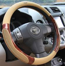 actual size prev next moyishi top leather steering wheel cover