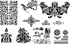 Swirl Design Co Seamless Swirl Patterns Eps Free Vector Download 3axis Co