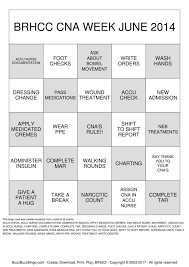 Cna Charting Cna Bingo Cards To Download Print And Customize