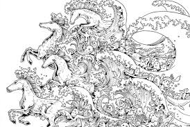 10 Intricate Adult Coloring Books To Help You De Stress Mental Floss