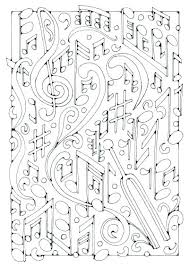 Coloring Pages Printable Music Note Coloring Pages Kids Free Notes