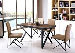 country style oak finish wood round dining table wooden room chairs solid stainless steel leg top kitchen astonishing ste