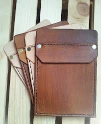 handmade leather pocket protector by jamesonleatherworks on
