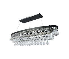 oval crystal chandelier glass drop black light up my home bronze oval crystal chandelier