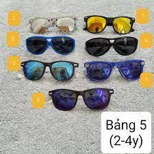 1-5y] Kính mắt/kính râm thời trang cho bé/bé trai/bé gái giá cạnh tranh