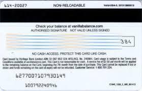country australia pany visa series vanilla catalog codes colnect codes au visavan 001 250 0718 expiry date 2018 07