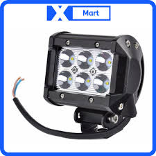 Đèn LED trợ sáng 6 bóng C6 gắn xe moto, xe máy đi phượt   Nông Trại Vui Vẻ  - Shop