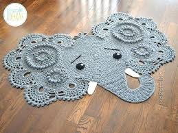 baby elephant rug elephant rug for nursery crochet pattern and elephant rug nursery mat elephant rug