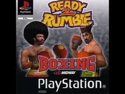 ready 2 rumble boxing ps1 playstation