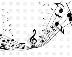 Musical Staff Sign Musical Notes Staff Vector Illustration Of Signs Symbols Maps