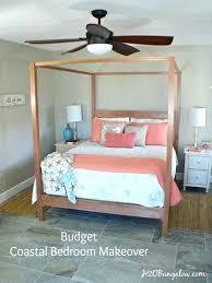 room makeover ideas diy budget coastal master bedroom makeover ideas that are easy to do diy