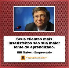 Frases de Vendas - Bill Gates - Planejamento de Vendas