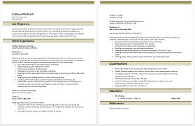 Vet Tech Resume Vet Tech Resume Examples Resume Samples