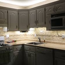 kitchen countertop lighting. Under Cabinet LED Lighting Kit - Complete Light Strip For Kitchen Counter Countertop