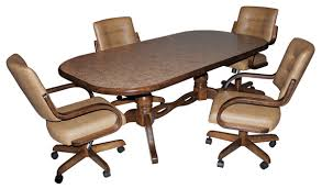 attractive mesmerizing swivel dining room chairs with casters 27 for used throughout