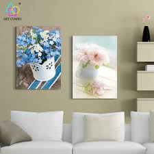Modern Paintings For Living Room Online Get Cheap Modern Paintings Flowers Aliexpresscom