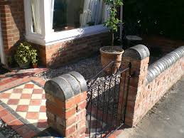 Small Picture Front Garden Brick Wall Designs Extraordinary 14 Best Images About