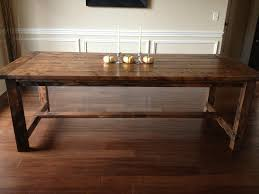 Dining Room Table Plans Free | Farmhouse diningroom table | Do It Yourself  Home Projects from
