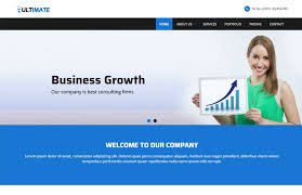 business responsive html web template