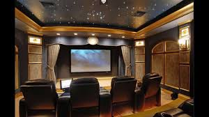 Interior:Fascinating Theater Room Design With Beautiful Ceiling Light And  Cream Curtain Ideas Fascinating Theater